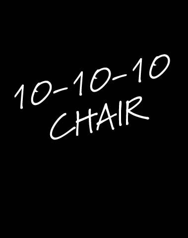 10-10-10 CHAIR