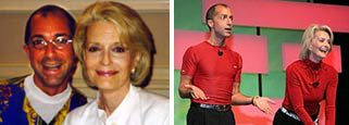 Lawrence Biscontini and Constance Towers Gavin - FITNESS: CELEBRITY STYLE