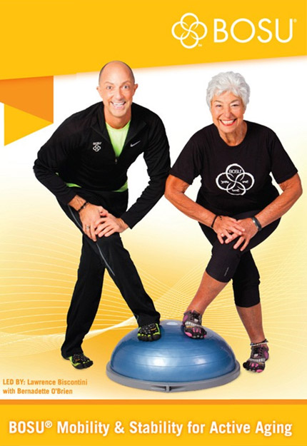 BOSU® Mobility & Stability for the Active Aging DVD