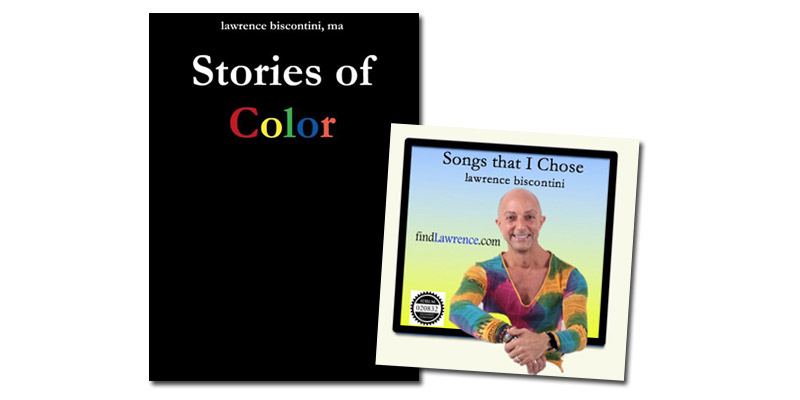 "Lawrence's New Book ""Stories of Color"""